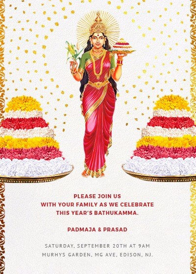 Bathukamma - Radiance and Grace