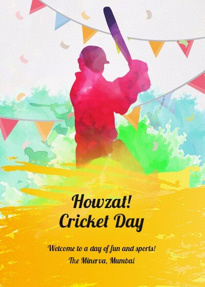 Cricket Day