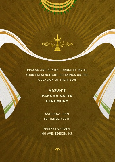 folk hues and radiance invitation