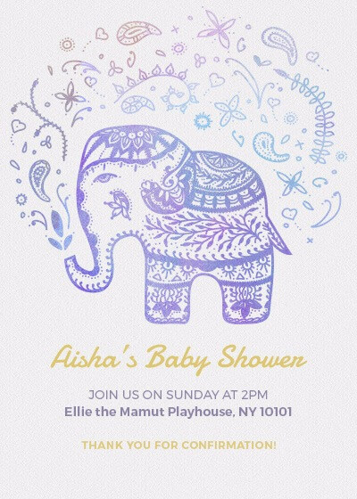 Baby Shower Invitation Invites
