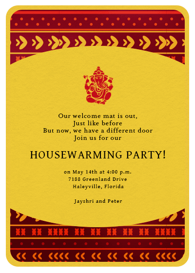 New Home New Memories Invitation Invites – Housewarming Invitation Cards
