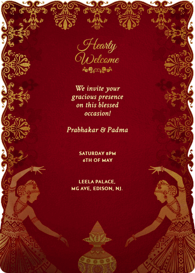 online invitation card designs