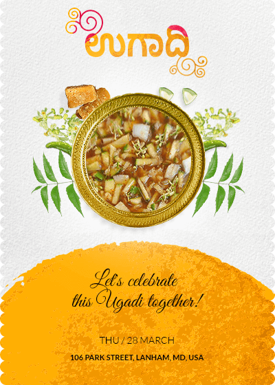 Yugadi - Recipe for hope